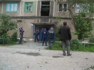 Взрыв в Ачинске